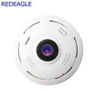 REDEAGLE 360 Degree FishEye 3D VR Wifi Camera HD 1080P 960P Mini Wireless Panoramic Security Cameras