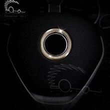 цена на Diamonds steering wheel Decorative stickers on cars for BMW 1 3 5 4 series X1 X3 X5 X6 E36 E39 E46 E30 E60 E92 E90 M3 F30 F35