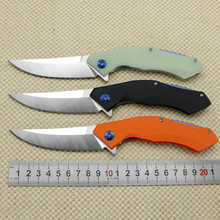2016 New Bearhead Blue Moon pocket folding knife D2 blade utility tactical survival knife EDC outdoor camping knife