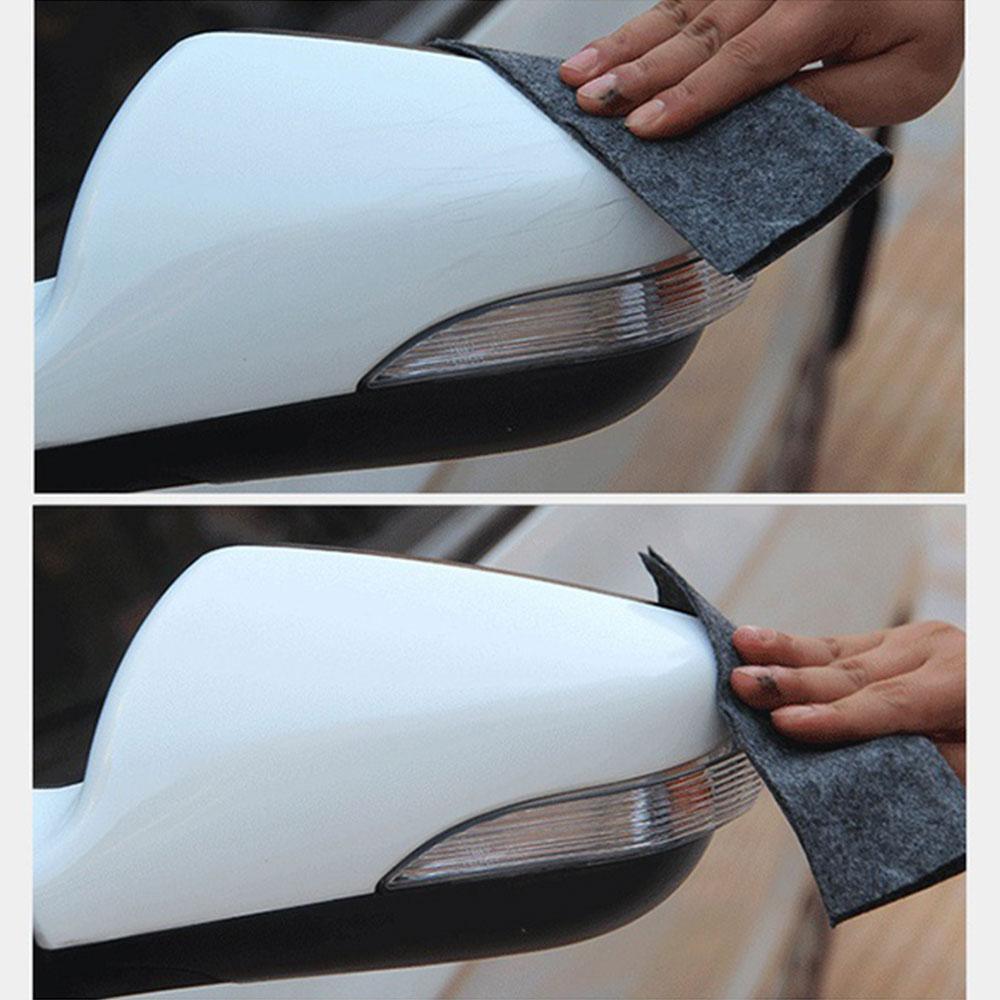 Car Scratch Repair Cloth Fix Clear Scratch Polish Magic Cloth Paint Cleaner Removal Durable Eraser Nano Material