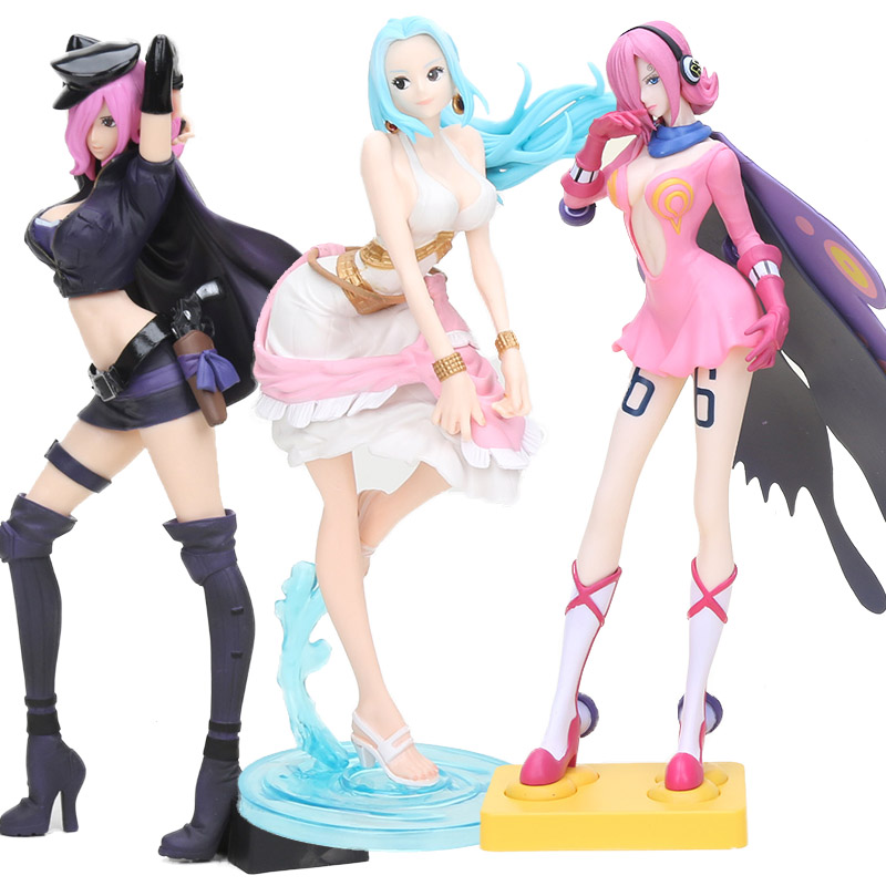 Action & Toy Figures Nice 12.6cm One Piece Vivi Figure Flag Diamond Ship Nami Nefeltari Vivi Glitter & Glamours Nico Vinsmoke Reiju Figure Collectible Toy