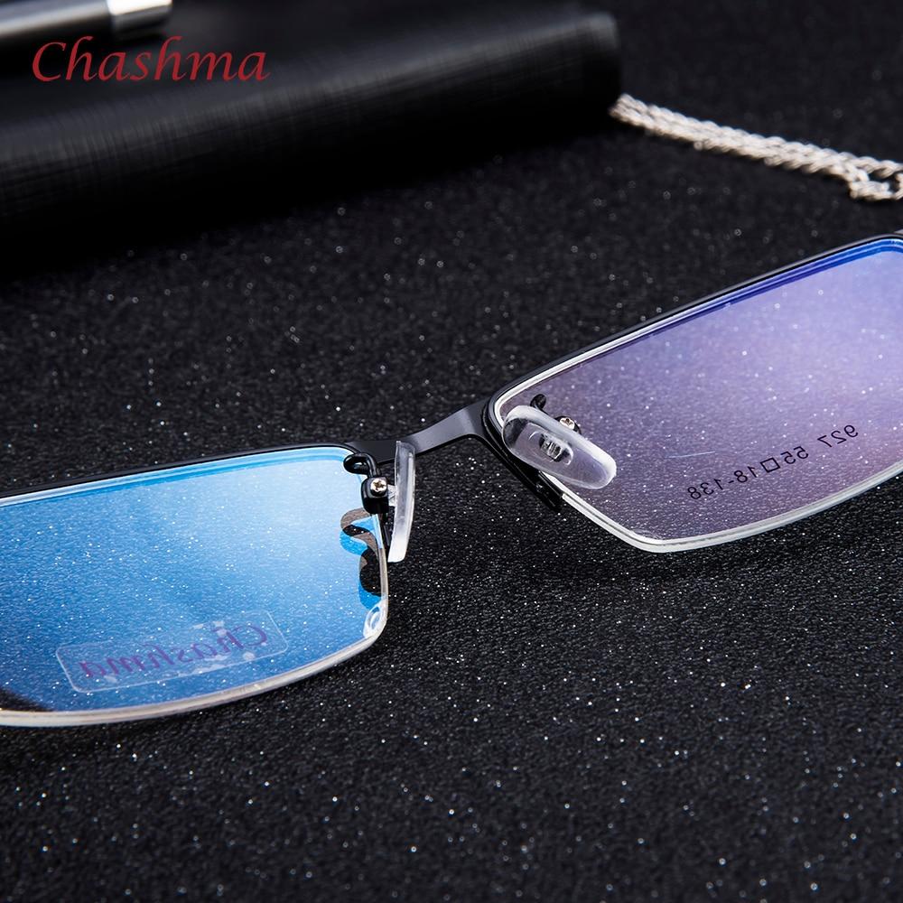 Syzet e markës Chashma Gentlemen Syzet e Meshës Blu Gjysma Rimmed - Aksesorë veshjesh - Foto 5