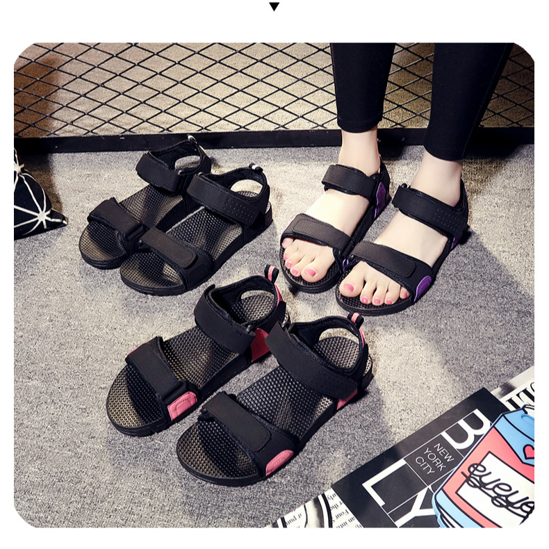 summer ladies thick-bottom Roman sandals breathable beach shoes non-slip gladiator sandalias mujer 2019 women footwear 7