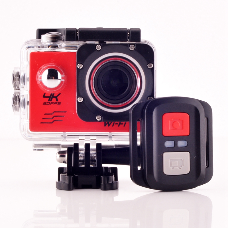 "4K Action camera Allwinner V3 4K/30fps 1080P/60fps 720P/120fps WiFi 2.0"" 170D Helmet Cam underwater go waterproof pro camera"
