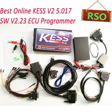 Hot kess v2 master Version Online Operation KESS V2 V5.017 SW2.23 No Tokens Limited ECU Programming KESS 5.017 Works Cars Trucks