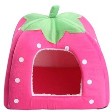 Strawberry Shaped Pet Bed