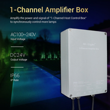 Miboxer 1-Channel Amplifier Box SYS-PT2 Input AC100~240V Output DC24V Max 200W Waterproof IP66 led controller