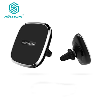 NILLKIN car Magnetic wireless charger with Air Vent Mount for samsung s8 s8 Plus s7 edge for iPhone 6s 7 7 Plus free shipping