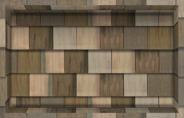Piastrelle di legno d buccia e bastone impermeabile antiscivolo