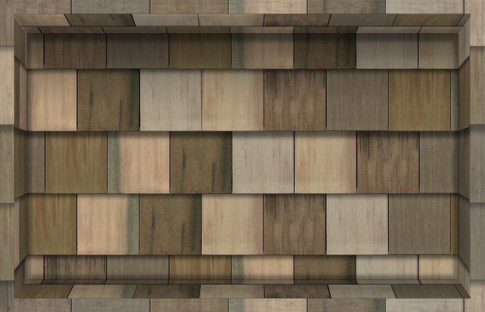Wooden Tile 3D Peel And Stick Waterproof Non Slip PVC