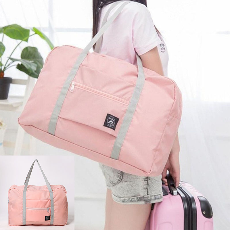 2019 New Large Casual Waterproof Travel Bags Clothes Capacity Shoulder Bag Foldable Handbag Duffle Bag Sale Travel Bag Very Hot