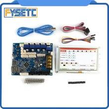 Усовершенствованная 32 битная Электроника Clone Duet 2 Maestro с 7 дюймовыми 7 дюймовыми встроенными цветными сенсорными контроллерами PanelDue 7i