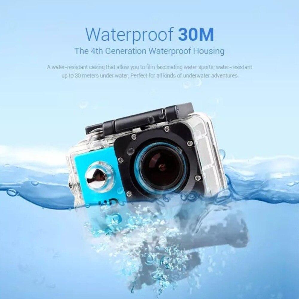 Outdoor Sport Action Mini Unterwasser Kamera Wasserdichte Cam Bildschirm Farbe Wasserdicht Video Überwachung Für Wasser Kameras