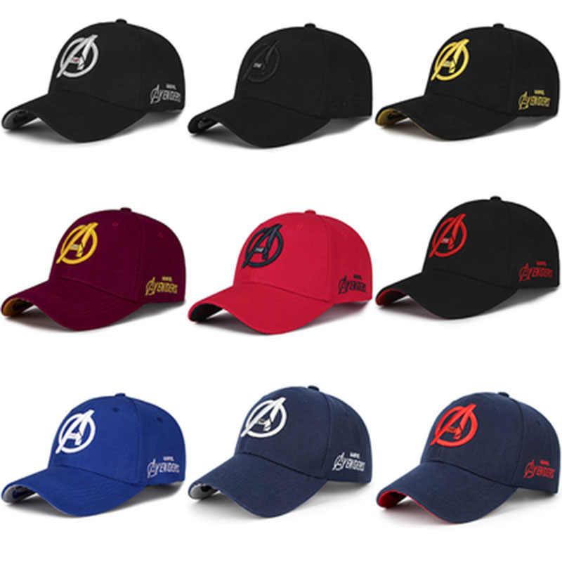 hot sale online d28ad 0cd58 Movie Avengers  Infinity War Hat Halloween Cosplay Caps Men Avengers 4  Endgame Hat Souvenir Embroidery