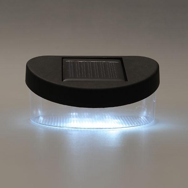 Открытый Солнечный Мощность ED Мощность экономии 4 LED белый яркий дома забор стены, крыша ходом свет лампы