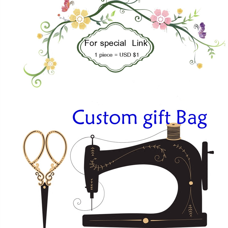 CustomeL ogo Bag MOQ 100piece 1piece is USD$1 can print wedding birthday logo buyer desi ...