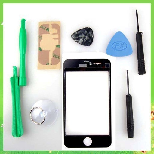 Free shipping! Digitizer Touch Screen For iPod Touch 3rd Gen W/8 Tools