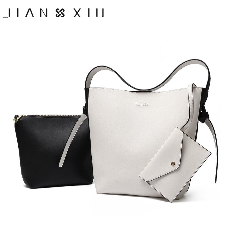 JIANXIU Women Bag Messenger Bolsas Feminina Bolsa Bolsos Mujer Tassen Borse Pu Leather Bucket Shoulder Bags 2018 Newest Handbags women leather handbags messenger bags split handbag shoulder tote bag bolsas feminina tassen sac a main 2017 borse bolsos mujer