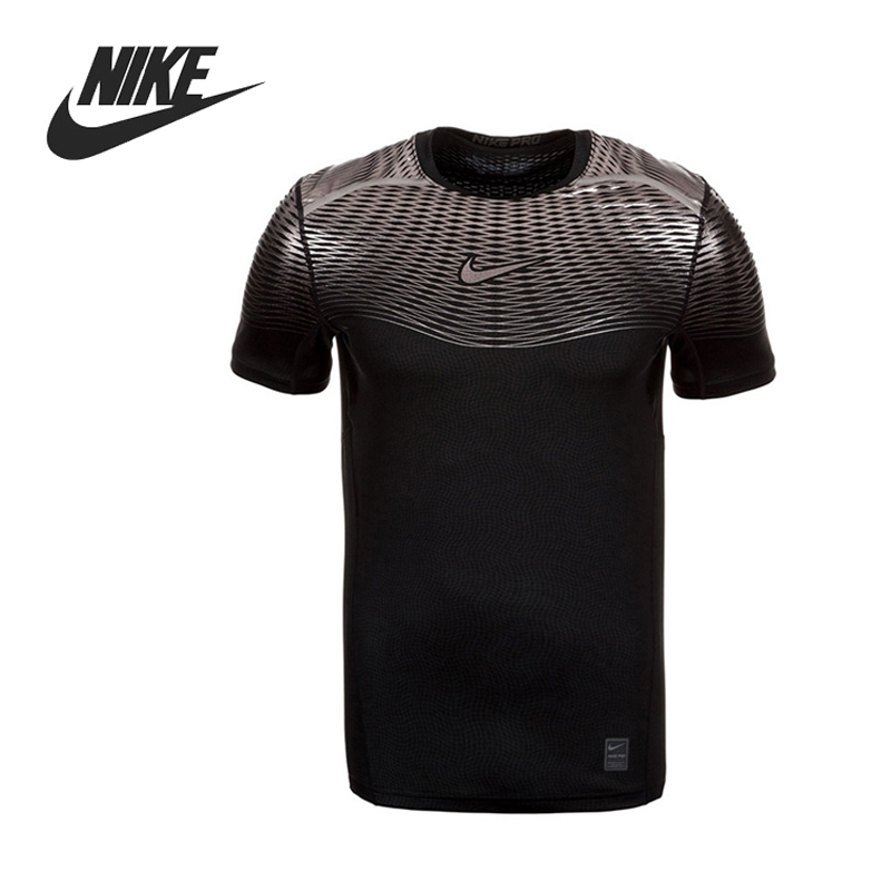 ФОТО Original New Arrival  NIKE HYPERCOOL MAX Men's Training T shirts short sleeve Sportswear