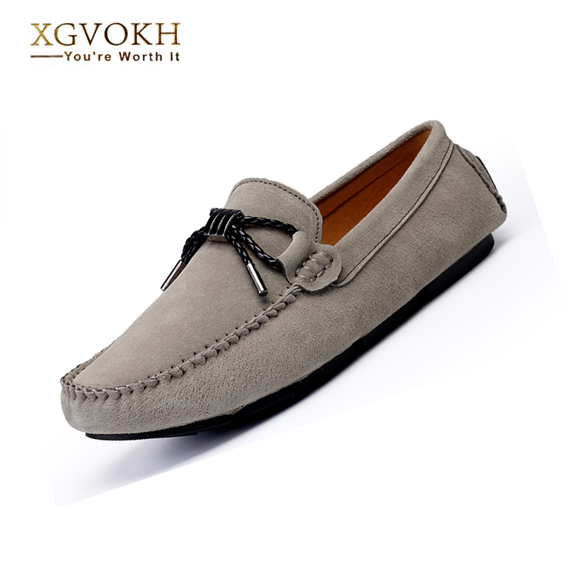 Men Shoes Summer Solid Breathable Men Loafers Men Flats Shoes Slip on Casual Leather Boat Shoes Men Driving Moccasin Bowtie 2017 new fashion summer spring men driving shoes loafers real leather boat shoes breathable male casual flats