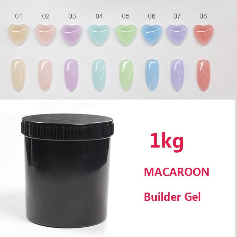 MSHARE Macaron Nails UV Builder Gel 1kg