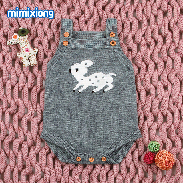 69cf029e5 Adorable Reindeer Bodysuit for Girls Christmas Coveralls Autumn ...