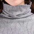 Свитер женщин 100% Чистый Козел Кашемировые Пуловеры 2016 Новый Бренд Зима Теплая Водолазка Юбки Мода Топы Женский Стандартный Ткань