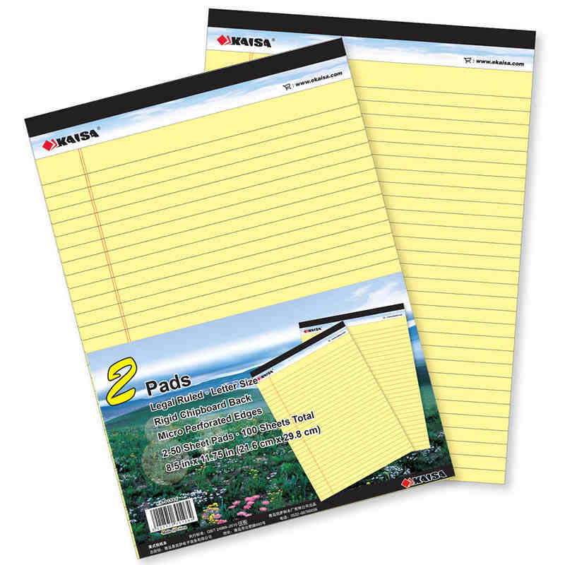 Memo Pads With Tear Line Double-sided USA style Business Stripes Draft Sticky Notes Office School Supplies never creative sticky notes and memo pads set post it message tag fashion color business office accessories ladies stationery