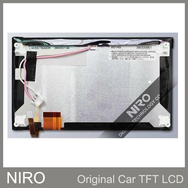 Niro DHL/EMS Новые оригинальные A+ Автомобильные TFT ЖК-мониторы от LQ065T5GG08