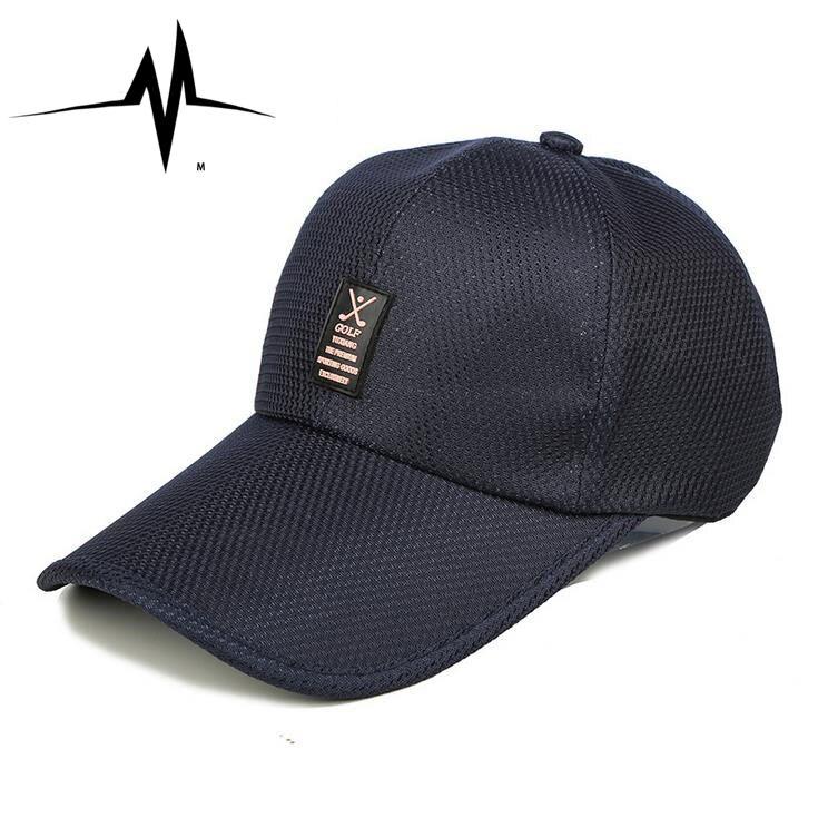 2016 Fashion Baseball Snapback Cap Men Golf Women Baseball Caps Quick-drying mesh Summer Hip-Hop Hat Outdoor Sports High Quality