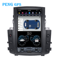 13.6 Tesla Style Car Radio Vertical Screen For 2007 2015 Lexu LX570 GPS Navigation Recorder Headunit Multimedia Player 4G + 32G
