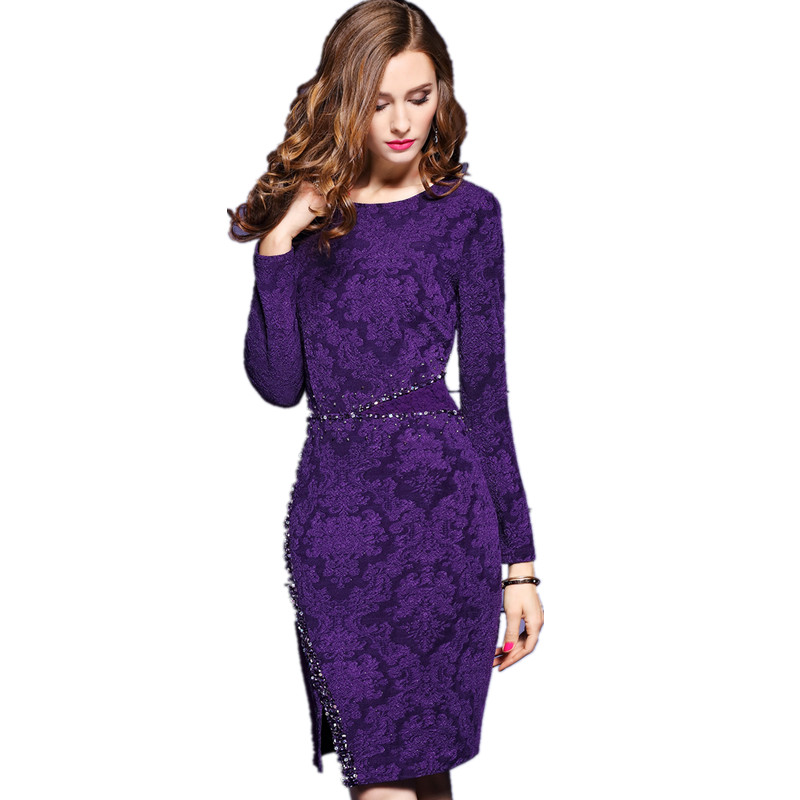 Popular Purple Dresses-Buy Cheap Purple Dresses lots from China ...