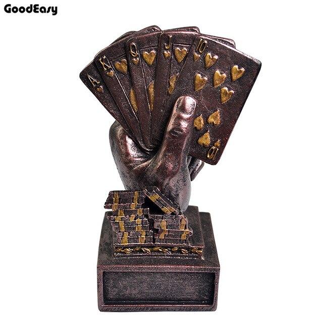 Poker Trophée Poker Souvenirs Trois Couleurs 1