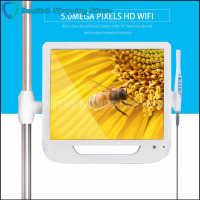 New Arrival 17 Inch Monitor USB / Wifi Intraoral Endoscope Endoscope Camera 6 Led Camera Dental Camera Dental Light Dentist