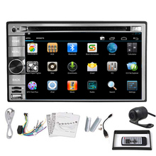 Android 5.1 WiFi Car DVD GPS Radio Audio EQ Receiver AMP Stereo OBD2 SD Auto RDS Autoradio Touch Screen Capacitive