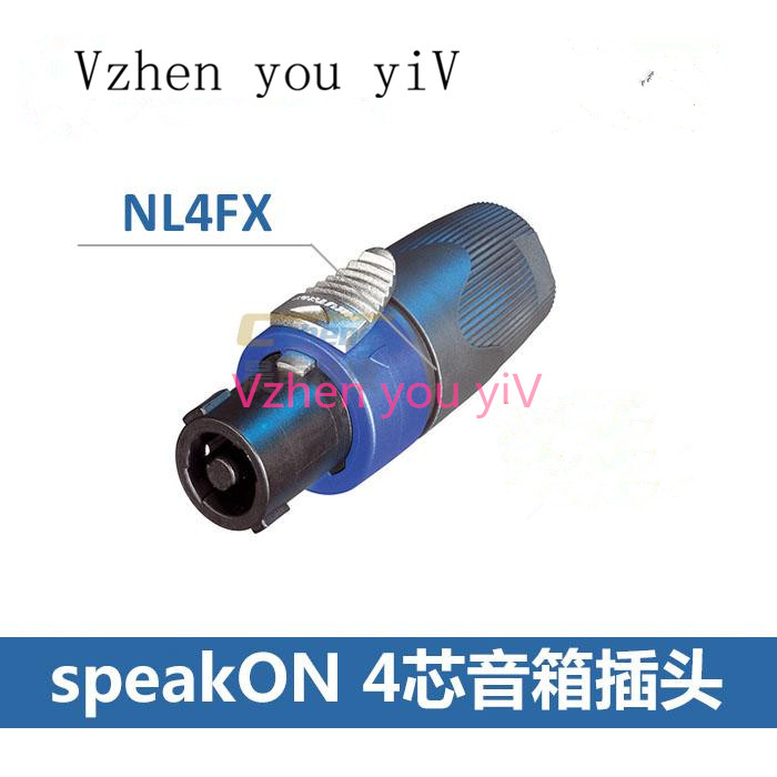 New And Original For NEUTR1K Type NL4FX Speakon 4Pole Plug Male Audio Speaker Connectors CONNECTOR
