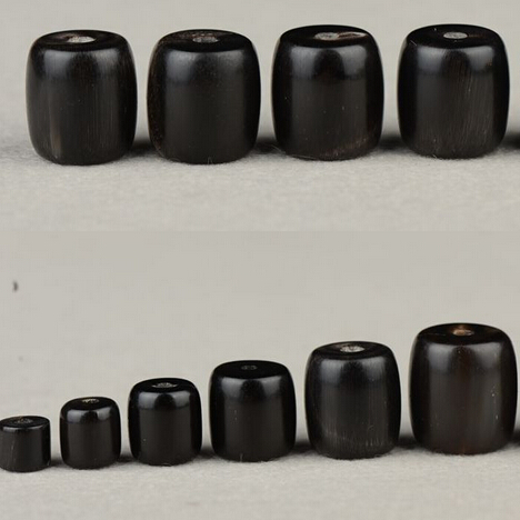 Beads Natural Yak-Horn Mala's-Accessories Handcrafted Tibetan Black