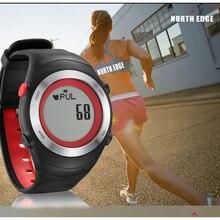 Горячая!!! СЕВЕРНЫЙ КРАЙ Heart Rate Monitor Шагомер Калорий Мужчины Спортивные Часы Цифровые Часы Запуск Туризм Наручные Часы Montre Homme