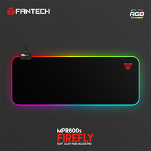 FANTECH RGB Large Mouse Pad Profession USB Cable Mousepad Smooth Surface With Locking Edge For FPS LOL Gaming Mive Pad