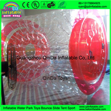 Amusement park water zorbing PVC Material Inflatable Hamster Wheel / Water Roller For Summer
