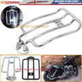Motorcycle Luggage Rack Support Shelf Fit For Stock Solo Seat Harley Sportster XL883 XL1200 2004-2012 Luggage Carrier Chrome