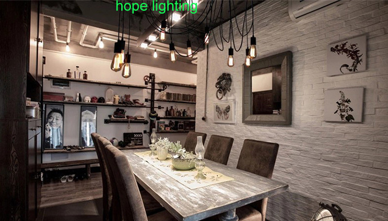 Spider licht plafond opgeschort plafondlamp installatie badkamer