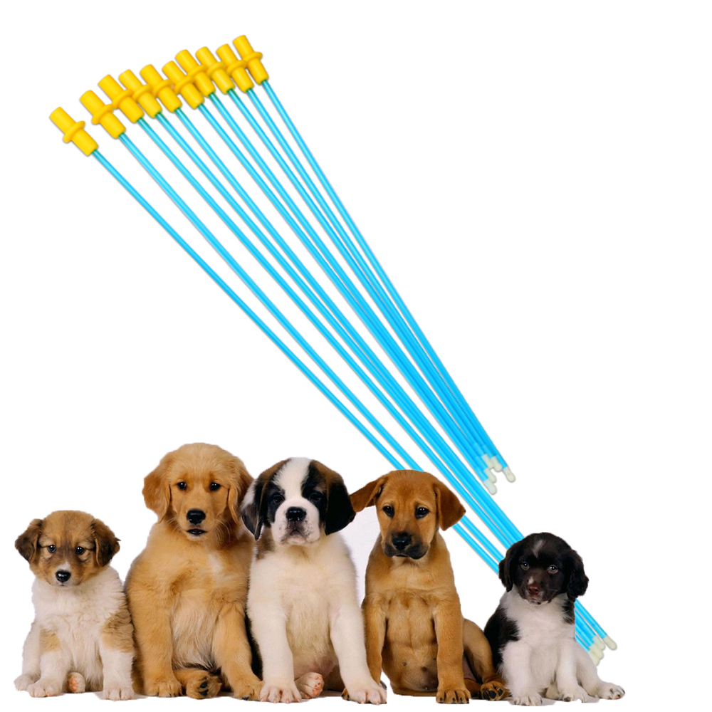 5PCS Professional Canine Care Artificial Insemination Disposable Pipe Plastic Pets Dog Pet Equipment Device Pipes Clinic Tools