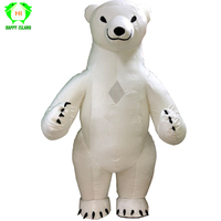 2018 Hot Inflatable Polar Bear Costume Cosplay Cloth For Advertising 3M Tall Customize For Adult Suitable For 1.7m To 1.8m