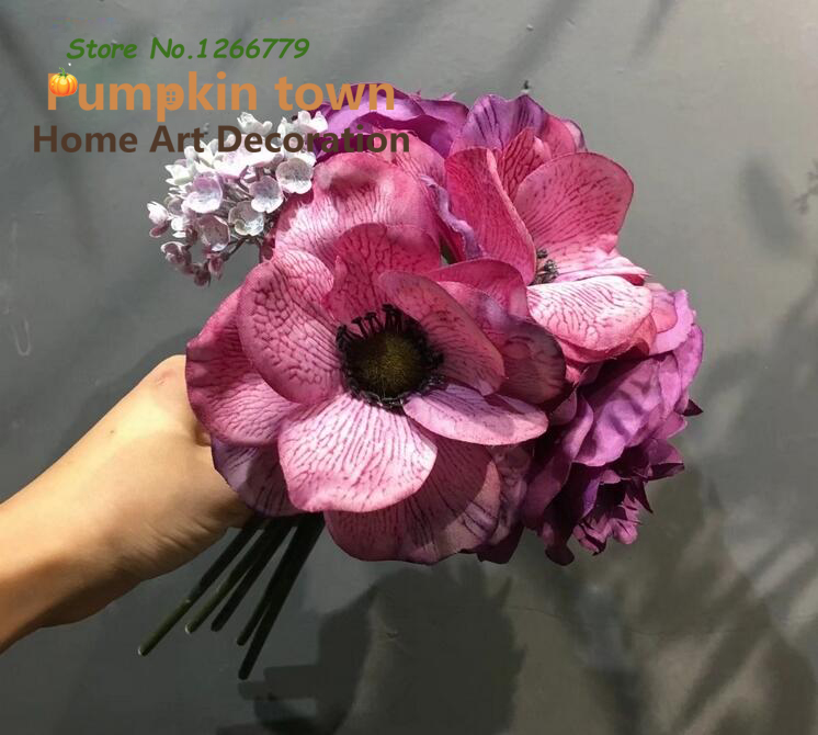 Beautiful Korean Style High Quality Simulation Flower,Mixed Flower ...