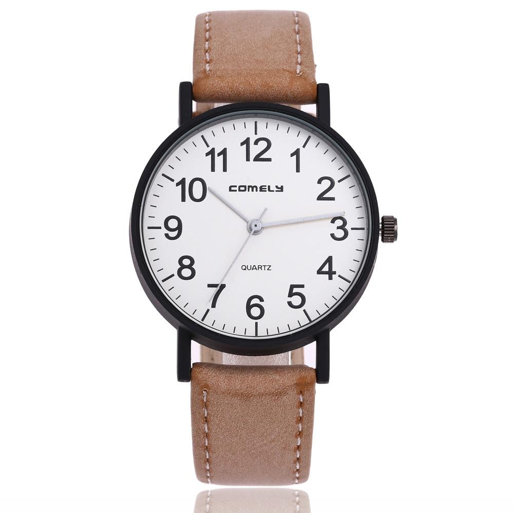 2018 Hot Sell Fashion Ladies Quartz Watch Brand Dress Women's Leather Strap Women Watches Fashion Wrist Watches