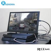 15.6 super slim Portable Monitor PC 1920x1080 HDMI PS3 PS4 Xbox360 1080P IPS LCD LED Display Monitor for Raspberry Pi 3 B 2B