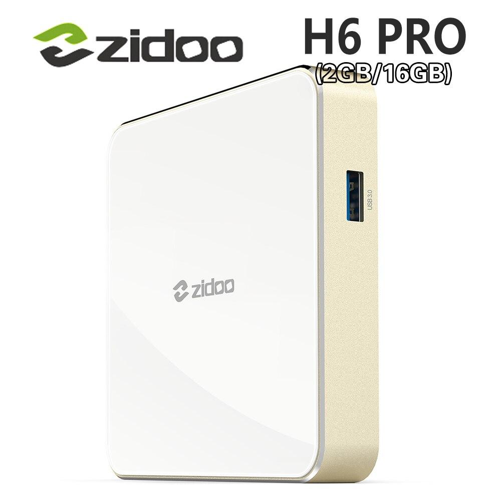 Allwinner H6 Android 7,0 Zidoo H6 PRO ТВ коробка DDR4 2 ГБ eMMC 16 ГБ ac 4 К 10Bit HDR WI-FI 1000 м LAN Dolby Digital DTS-HD Smartcolo