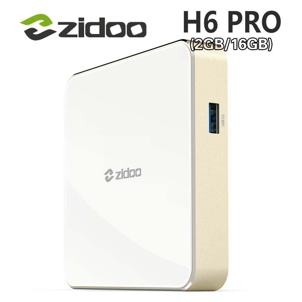 Allwinner H6 Android 7.0 Zidoo H6 PRO TV Box DDR4 2GB eMMC 16GB ac 4K 10Bit HDR WIFI 1000M LAN Dolby Digital DTS-HD Smartcolo zidoo x6 pro 4k2k h265 smart android 51