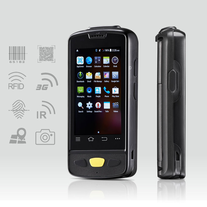 Cheap Portable Android wireless data terminal top quality 1D Laser / CCD barcode scanner